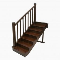 French Oak Staircase Model
