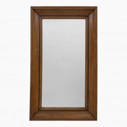 Molded Oak Mirror