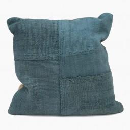 "Blue Antique Kilim Cushions - 19"" Square"