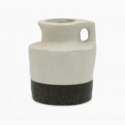 Hand Built Tunisian Clay Pot