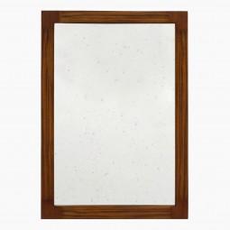 Italian Rosewood and Mahogany Mirror