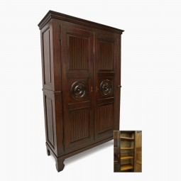 Stained Wood Armoire