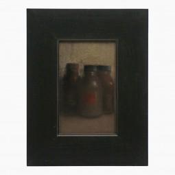 Framed Pastel Still Life by Francois Sasmayoux