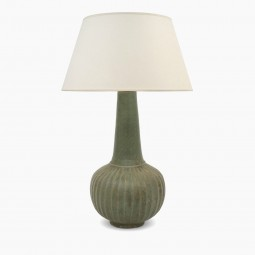 Thai Stoneware Table Lamp