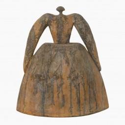 "Gres Noir Figural Sculpture ""Las Meninas"" by Cristelle Berberian"