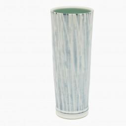 Blue and White Porcelain Slip Vase