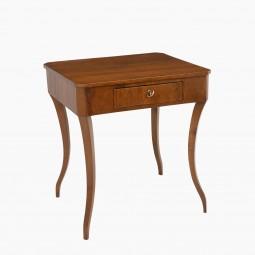 Venetian Walnut Side Table