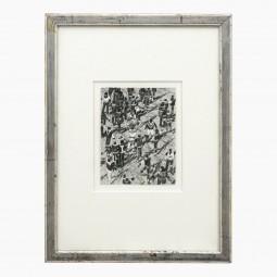 Ink Drawing of People by Jean Pierre Stora