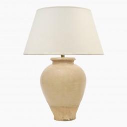 Peach Terra Cotta Table Lamp
