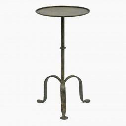 Round Gilt Iron Table