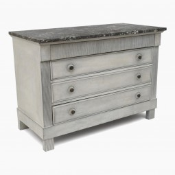 Four Drawer Painted Commode