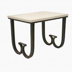 Textured Iron Table Att: Paul Kiss