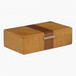 Small Sycamore Art Deco Box