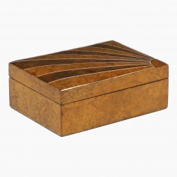Walnut Art Deco Box