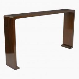 Walnut Console Table