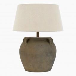 Antique Stoneware Lamp