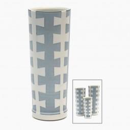 "Porcelain ""Zipper"" Vase"