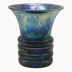 Iridescent Blue/Green Vase