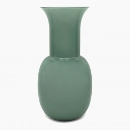 Green Murano Vase