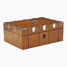 Satinwood and Steel Box