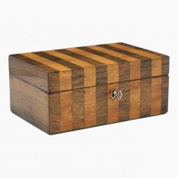 Satinwood and Rosewood Box