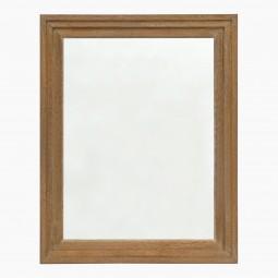 Stepped Cerused Oak Mirror