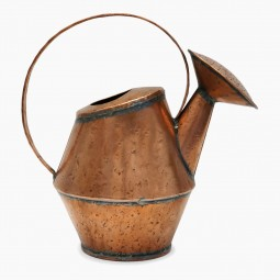 Hammered Copper Watering Can