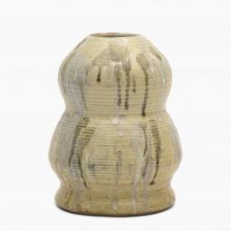 Beige Drip Glaze Vase