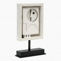 Wood Abstract Figural Sculpture