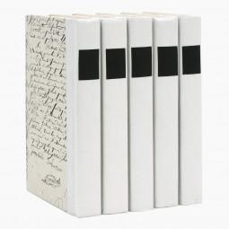 Decorative Books in Black and White