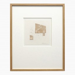 Collage on Paper by Jean Marc Louis