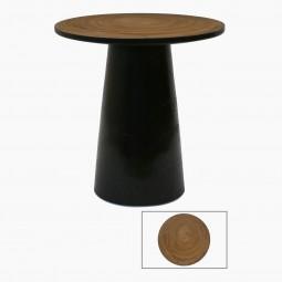 Circular Suar Wood Small Table