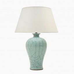 Celadon Crackle Glazed Table Lamp