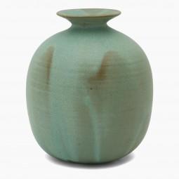 Light Green Studio Stoneware Vase
