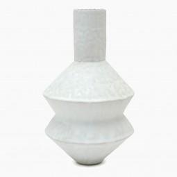 Pinched Stoneware Vase