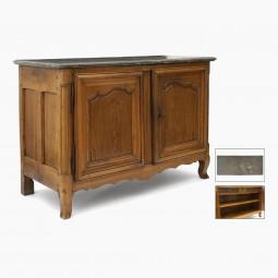 Walnut Two Door Cabinet