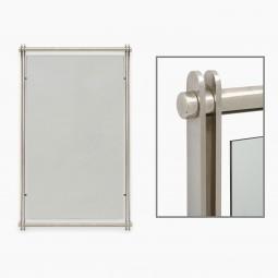 Rectangular Nickel Mirror