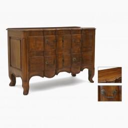 Walnut 18th Century Commode