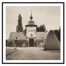 """Photograph """"Castle Stables near Antwerp"""" by Dale Goffigon"""