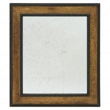 Gilt Wood and Ebonized Framed Mirror