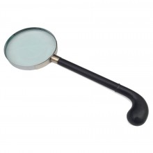 French Ebony Desk Magnifier