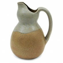 French Two-Color Ceramic Pitcher