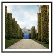 "Photograph ""Blue Garden Gate"" by Dale Goffigon"