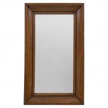 Molded Oak Mirror