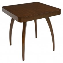 Square Oak Halabala Side Table