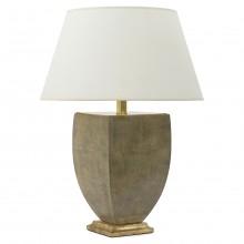 Italian Urn Shaped Shagreen Table Lamp