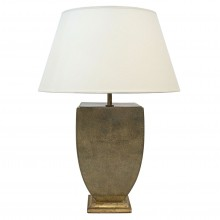 Italian Urn Shaped Shagreen Table Lamp