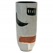 Abstract Motif Studio Art Vase