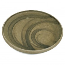 Taupe and Brown Dish by Mobach