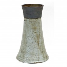Abstract Gray Vase